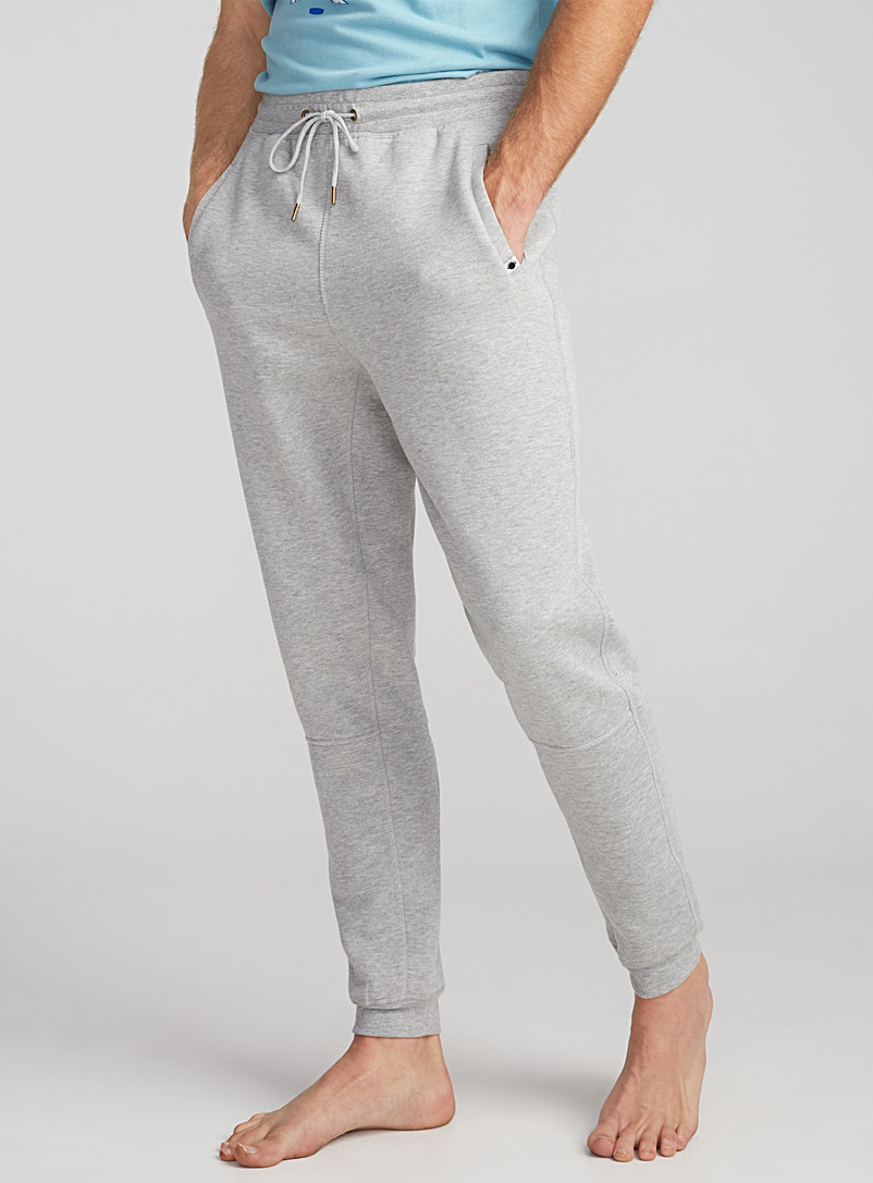 Solid lounge joggers - Sleepwear & Leisurewear - Charcoal