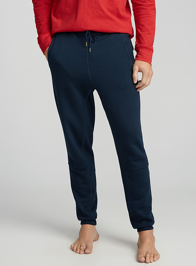 Solid lounge joggers - Sleepwear & Leisurewear - Marine Blue