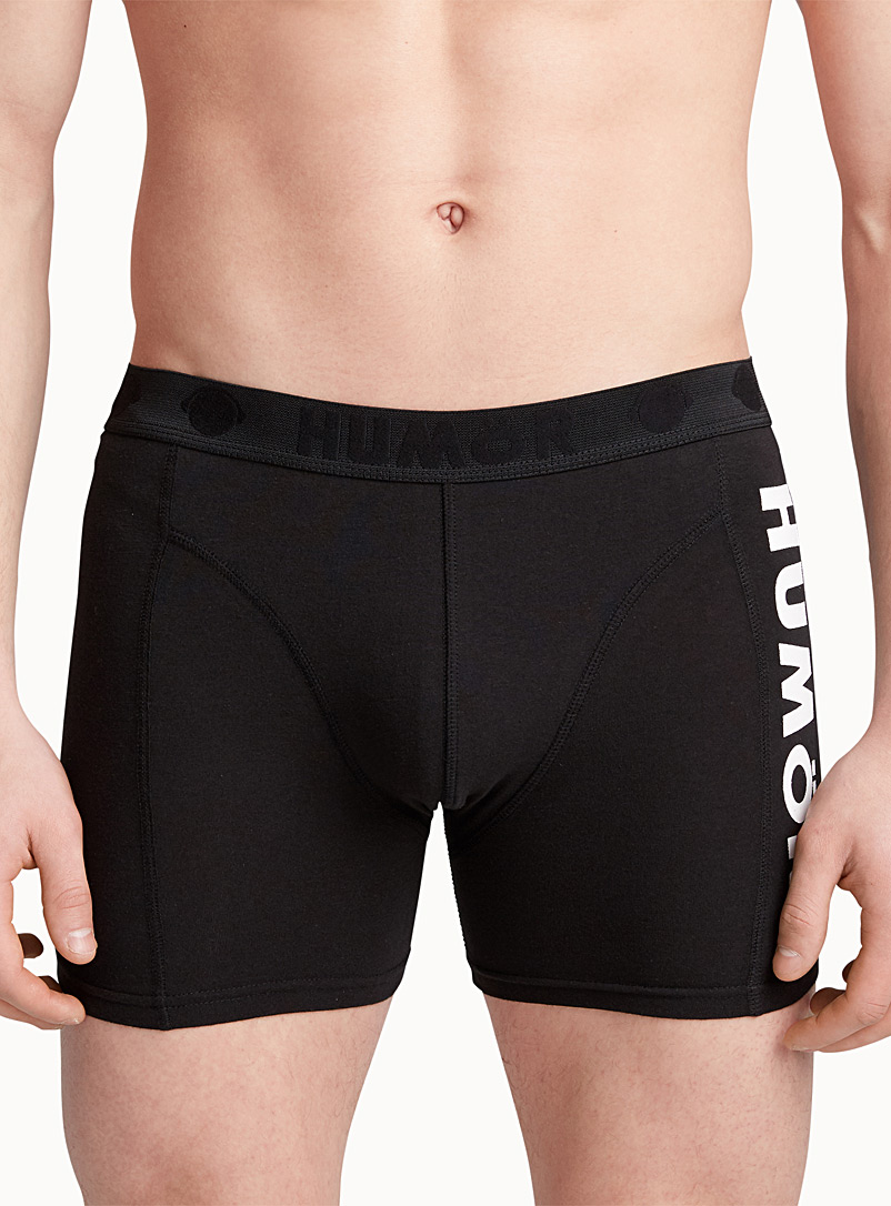 Humör Black Bright jersey boxer brief for men