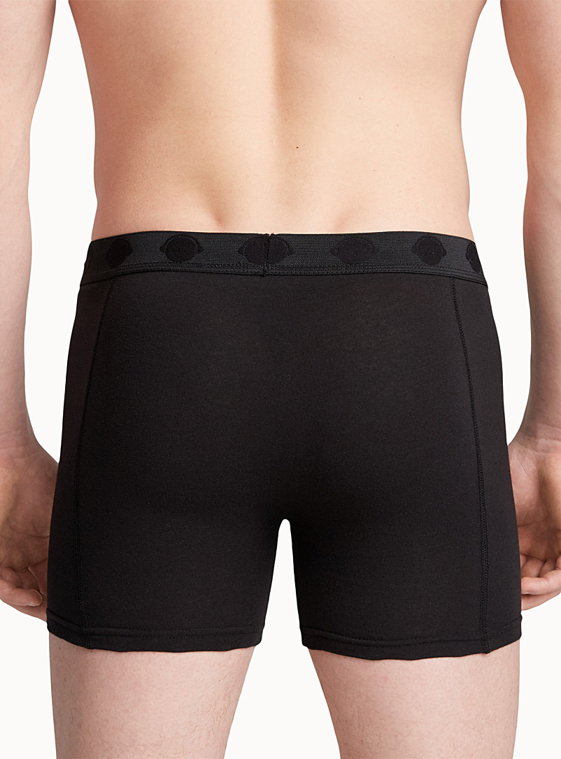 Bright jersey boxer brief - Boxers & Briefs - Black