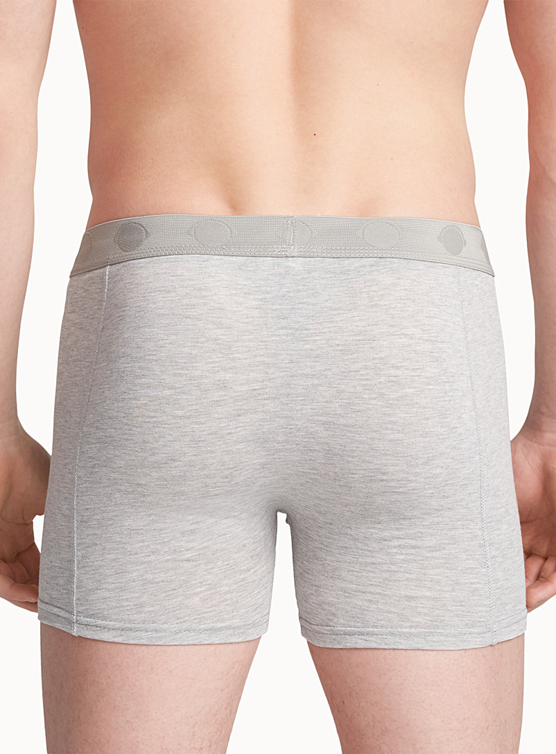 Bright jersey boxer brief - Boxers & Briefs - Grey