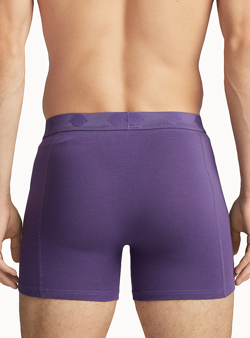 Bright jersey boxer brief - Boxer briefs - Mauve