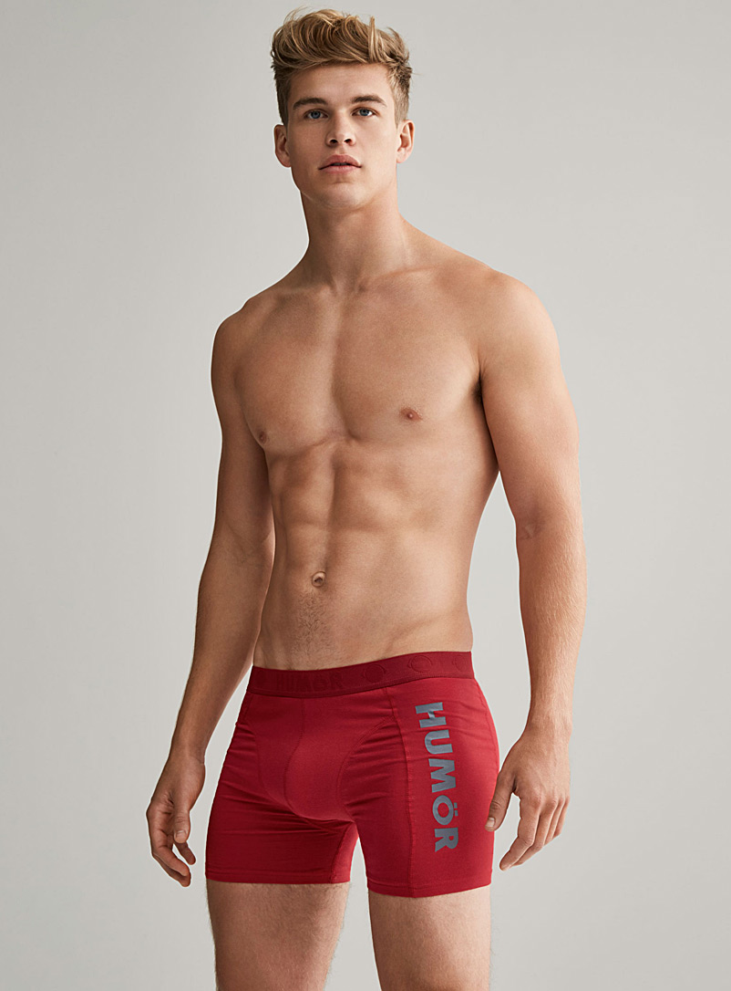 Bright jersey boxer brief - Boxers & Briefs - Cherry Red