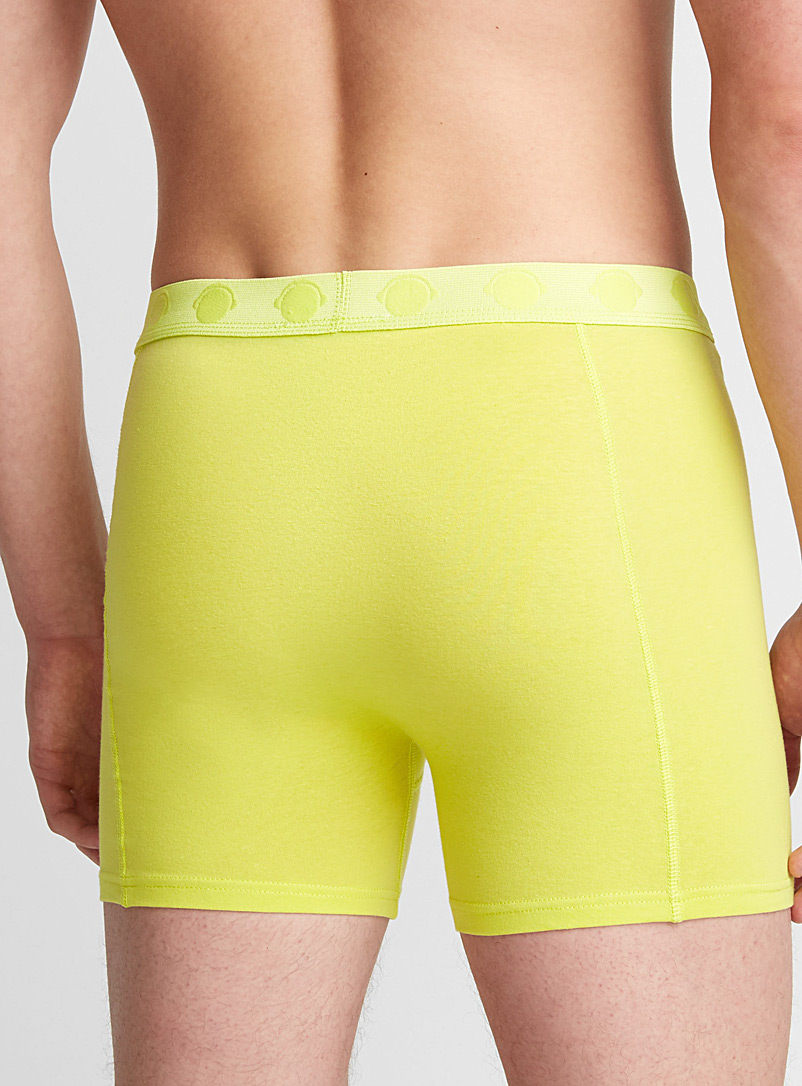 Humör Cherry Red Bright jersey boxer brief for men