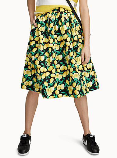 Fresh lemon skirt
