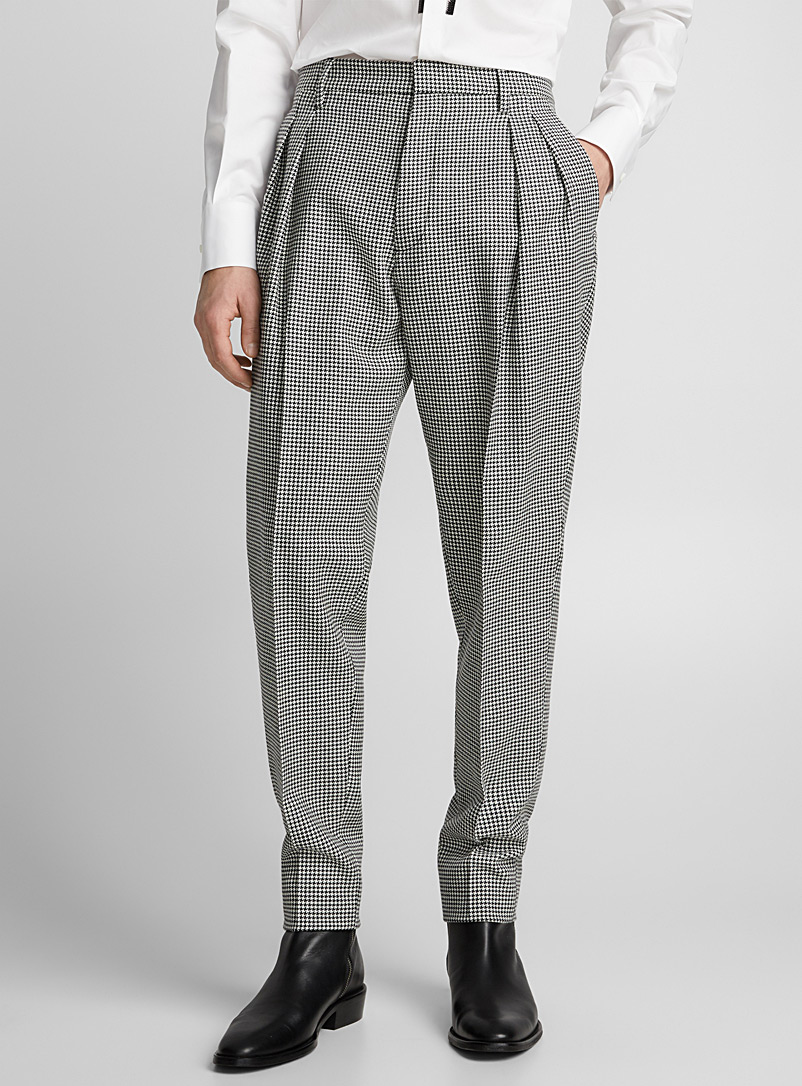 houndstooth-pant