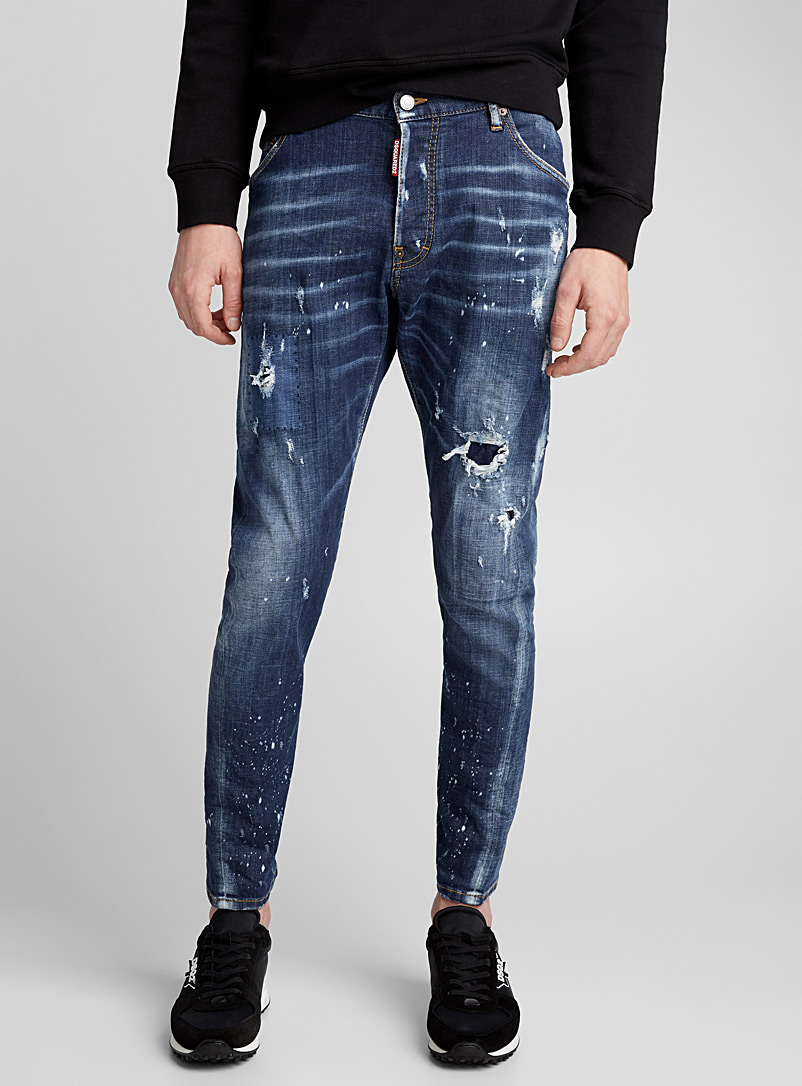 Perfection Classic Kenny Jeans - Dsquared2 - Blue
