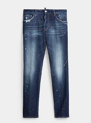 Dsquared2 Blue Sexy Mercury faded jean for men