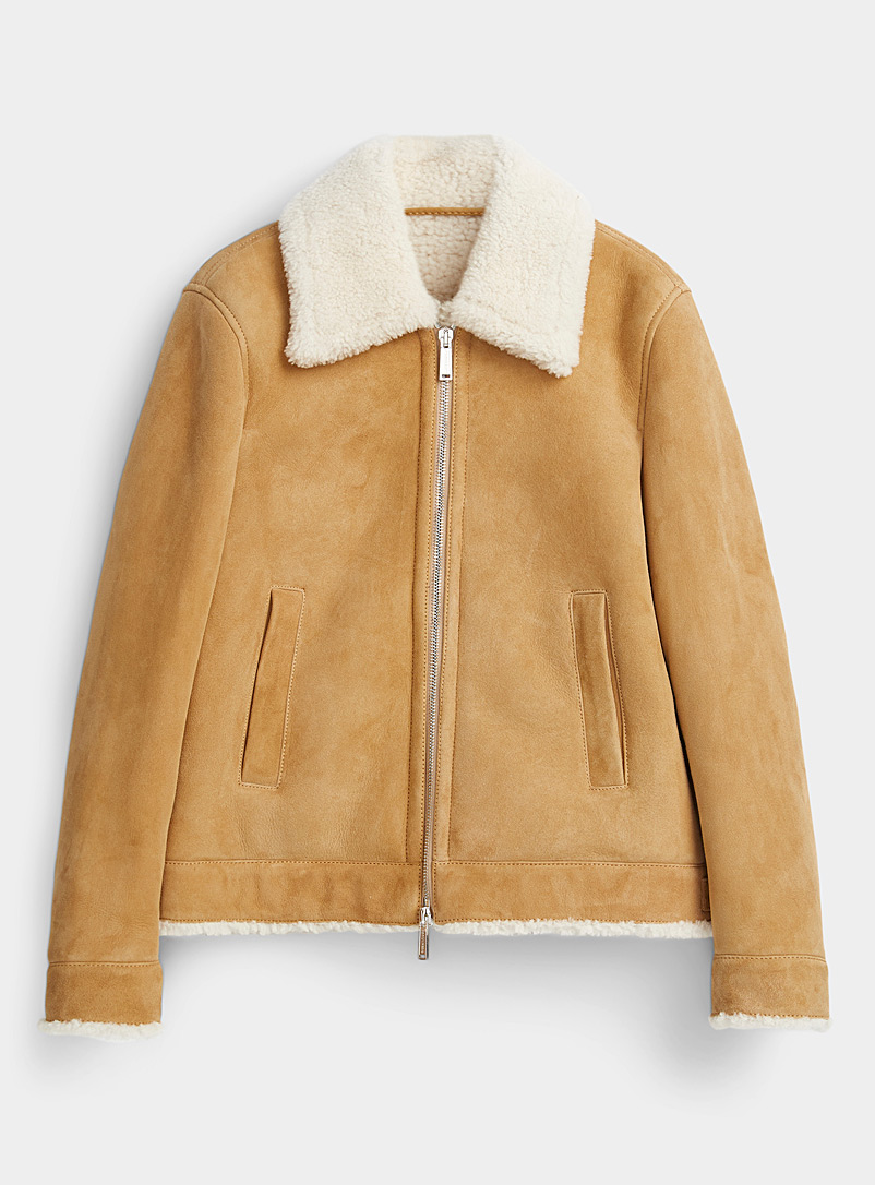 Dsquared2 Honey Sheepskin jacket for men