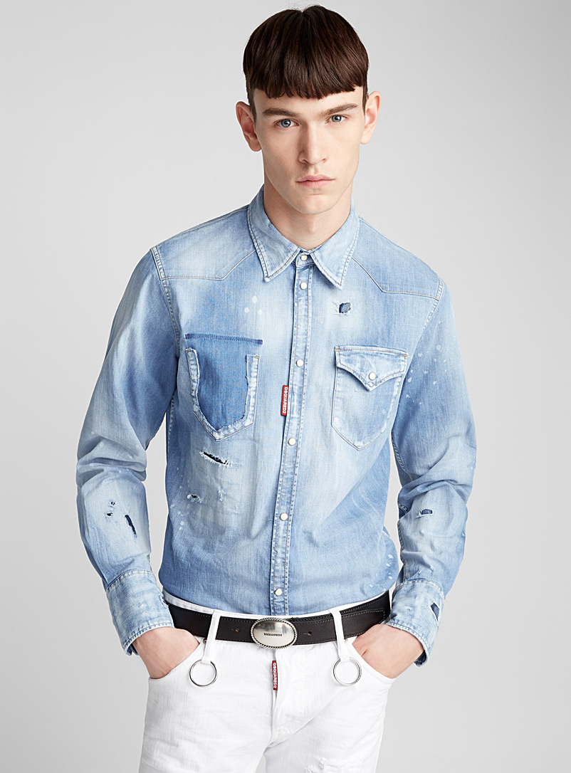 distressed-denim-shirt