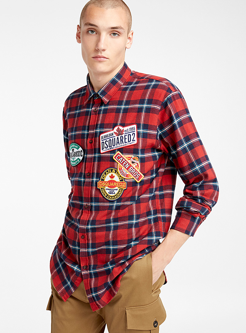 Patches shirt - Dsquared2