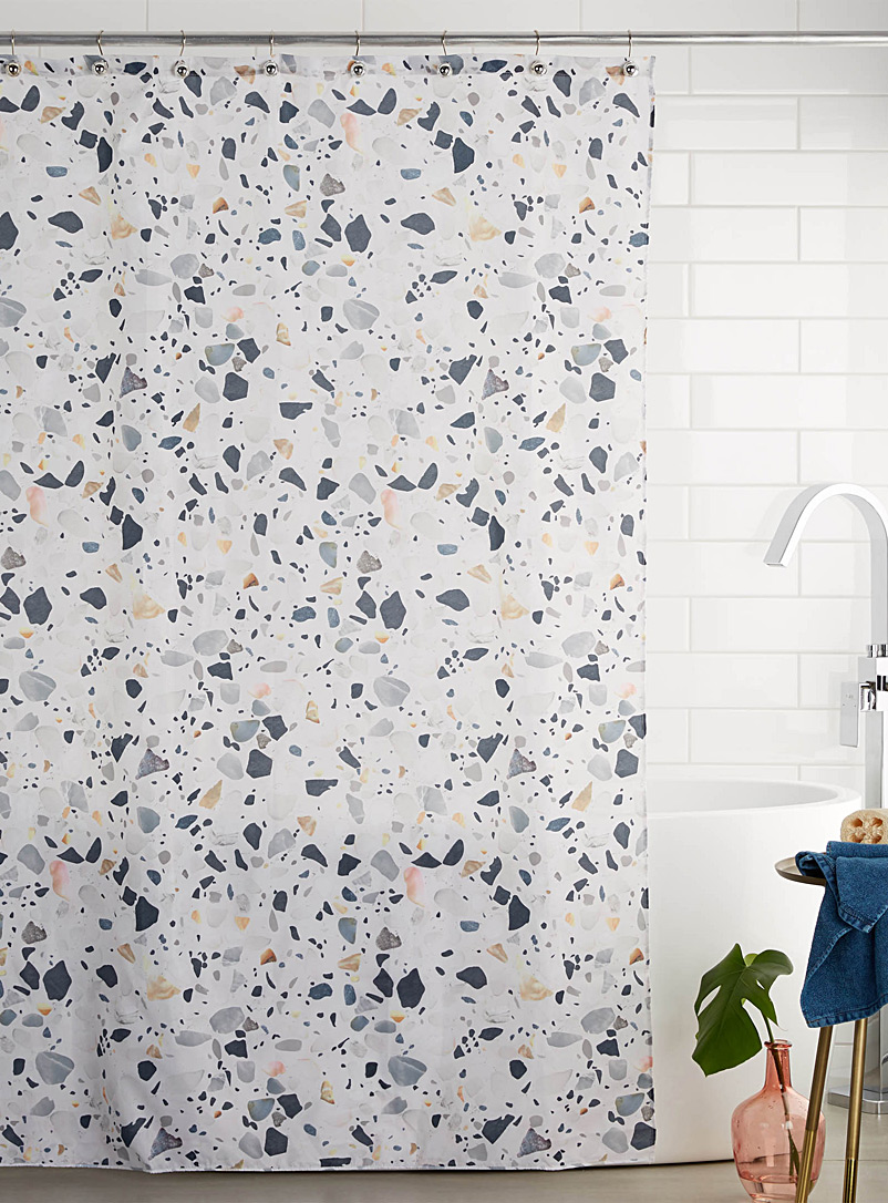 Simons Maison Assorted Terrazzo-print shower curtain