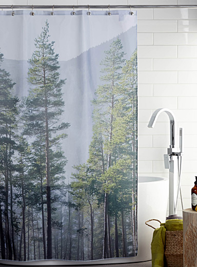 Twilight shower curtain