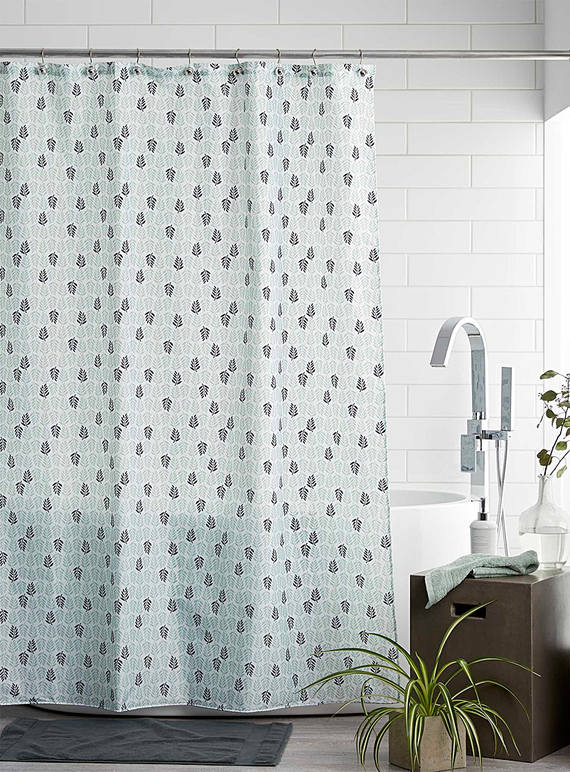 stencil-leaves-shower-curtain
