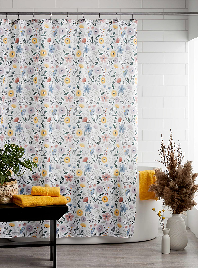 Simons Maison Assorted Soft floral shower curtain