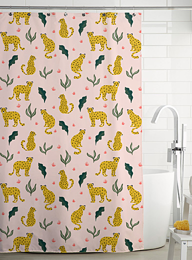Simons Maison Assorted Cheetah shower curtain