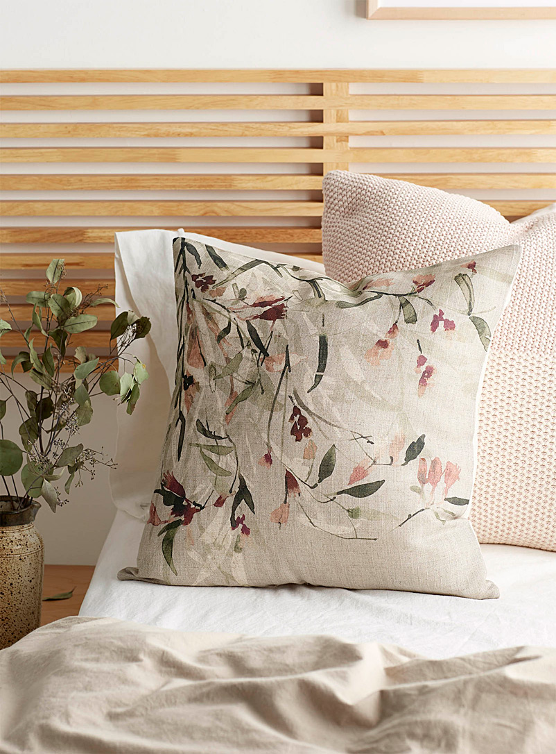 Kas Australia Assorted Wildflower cushion  50 x 50 cm