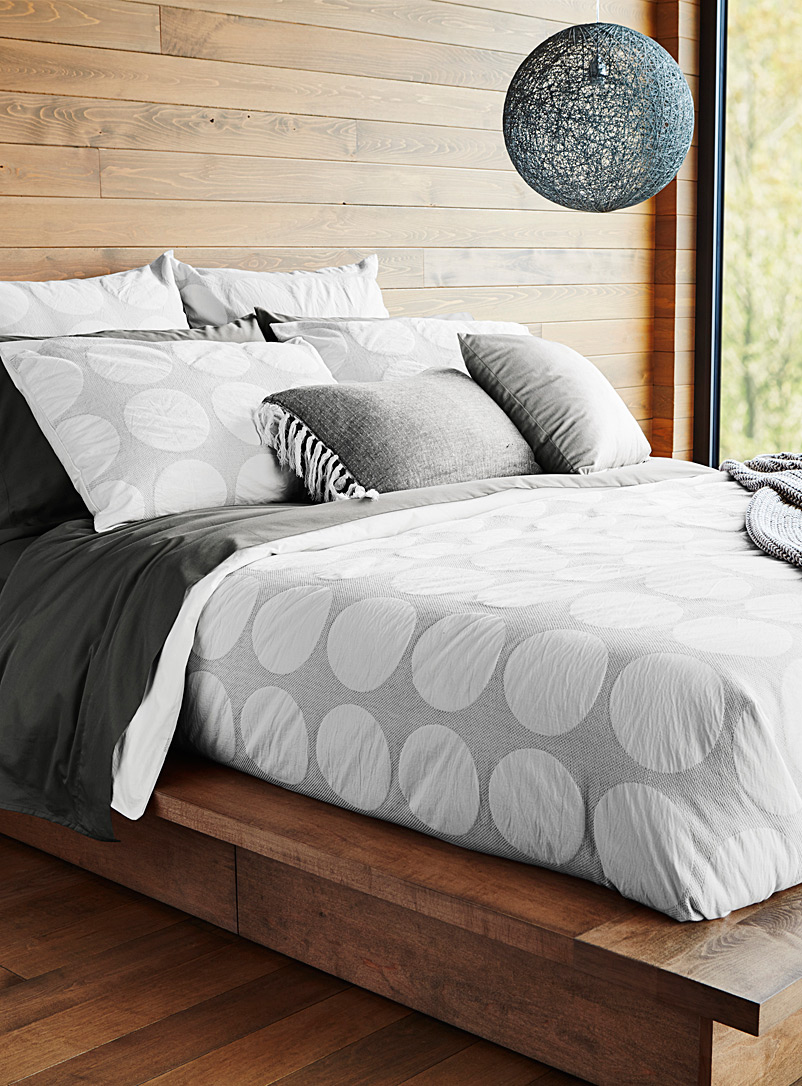 Duvet Covers.Geo Disc Duvet Cover Set