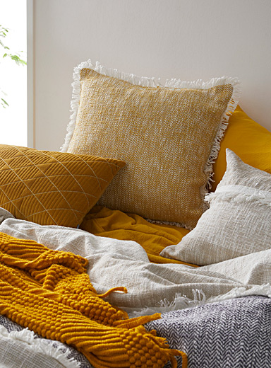 Exotic sheen Euro pillow sham