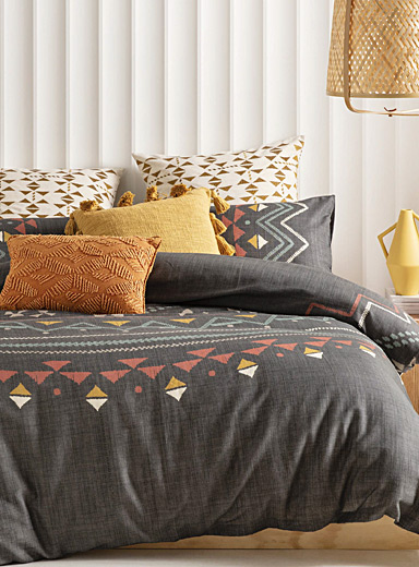 Geo ornaments duvet cover set