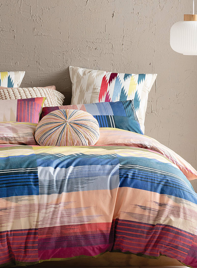 Kas Australia Assorted Braddon retro duvet cover set