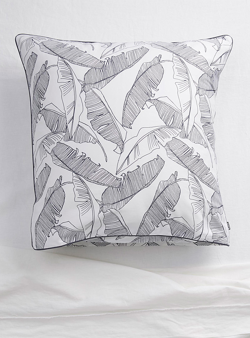 Kas Australia Assorted Palm grove Euro pillow sham