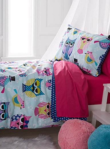 Outlandish owl duvet cover set