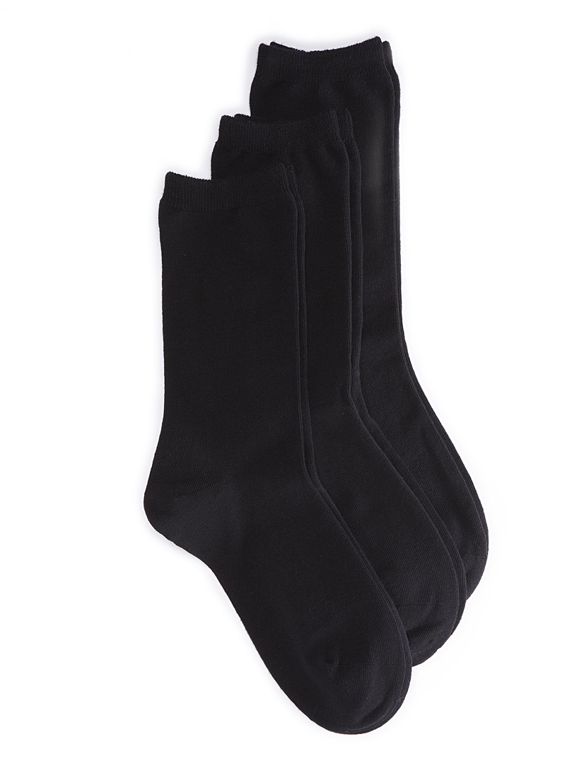 Classic socks  Set of 3 - Socks - Black