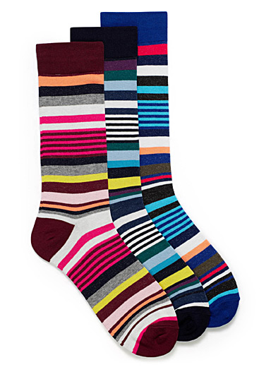 Multi-stripe sock 3-pack