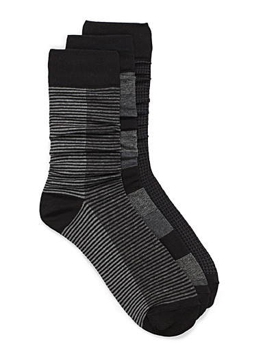 Multi-tone sock 3-pack