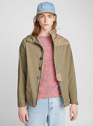 Graphic pocket jacket