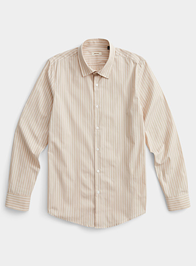 Sand stripe shirt