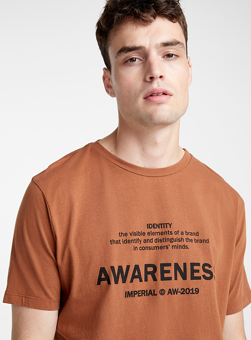 Awareness T-shirt - Logo wear