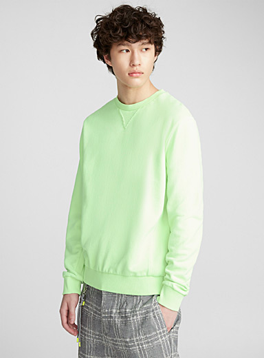 Faded neon sweatshirt