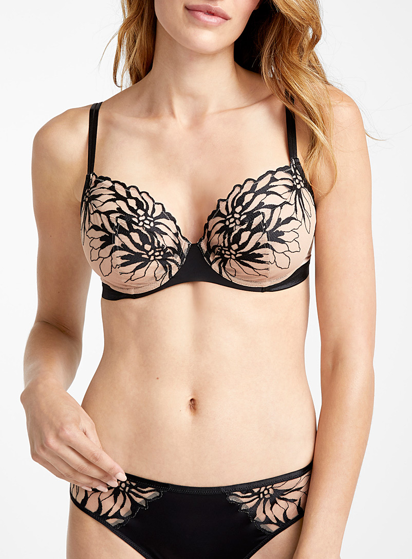 Shadows full coverage bra - Unlined - Tan