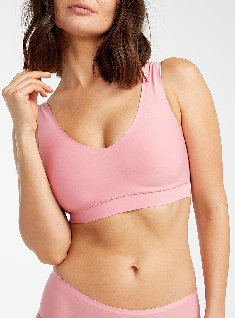 Chantelle Pink Soft Stretch wireless bra for women