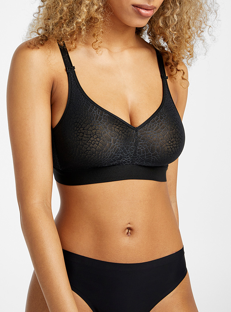 Chantelle Black C Magnifique bralette for women