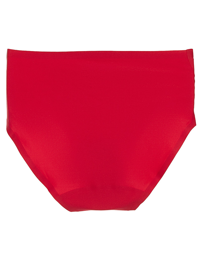Minimalist silky hipster - Hipsters - Red