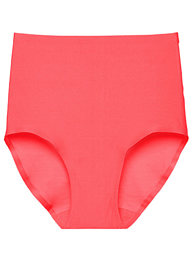 Chantelle Medium Pink Colourful Soft Stretch high-rise hipster for women