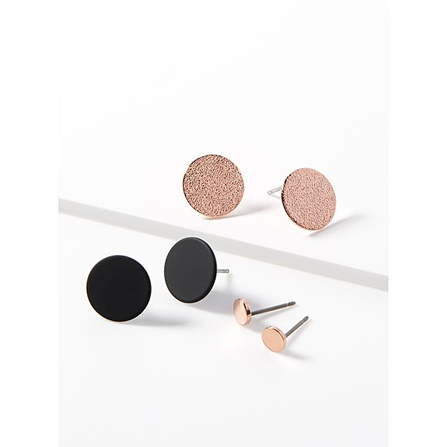 metallic-disc-earrings-set-of-3