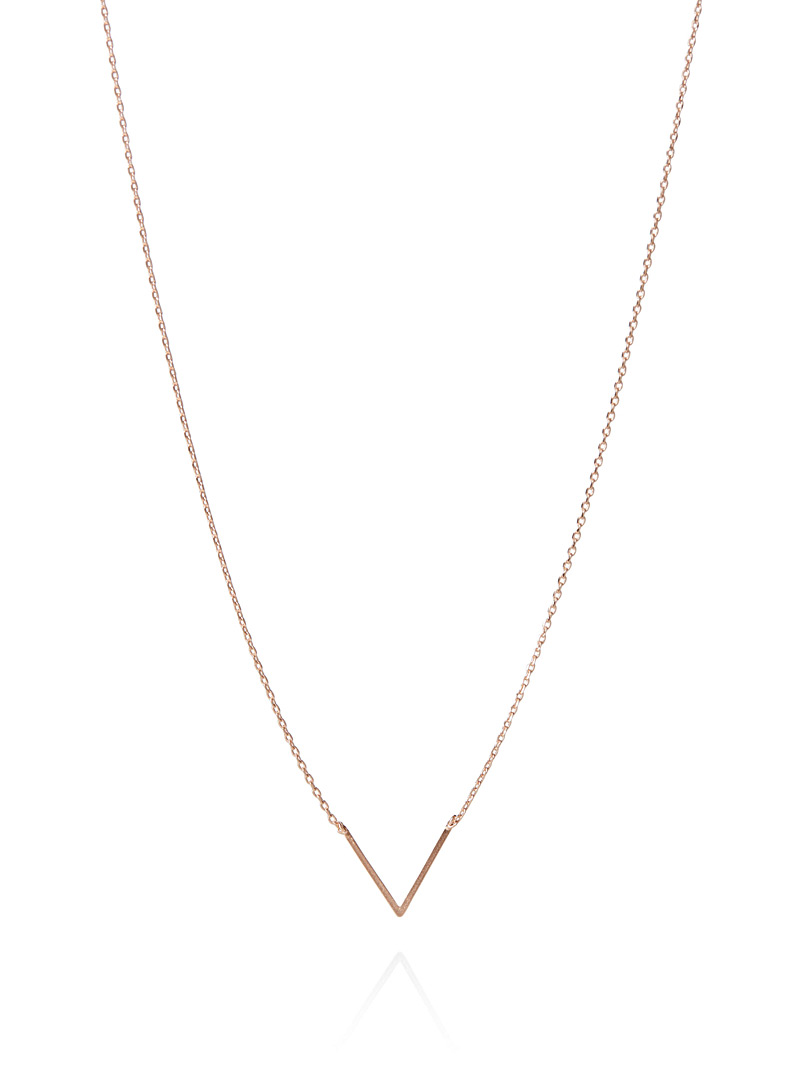 Simons Assorted V chain necklace for women