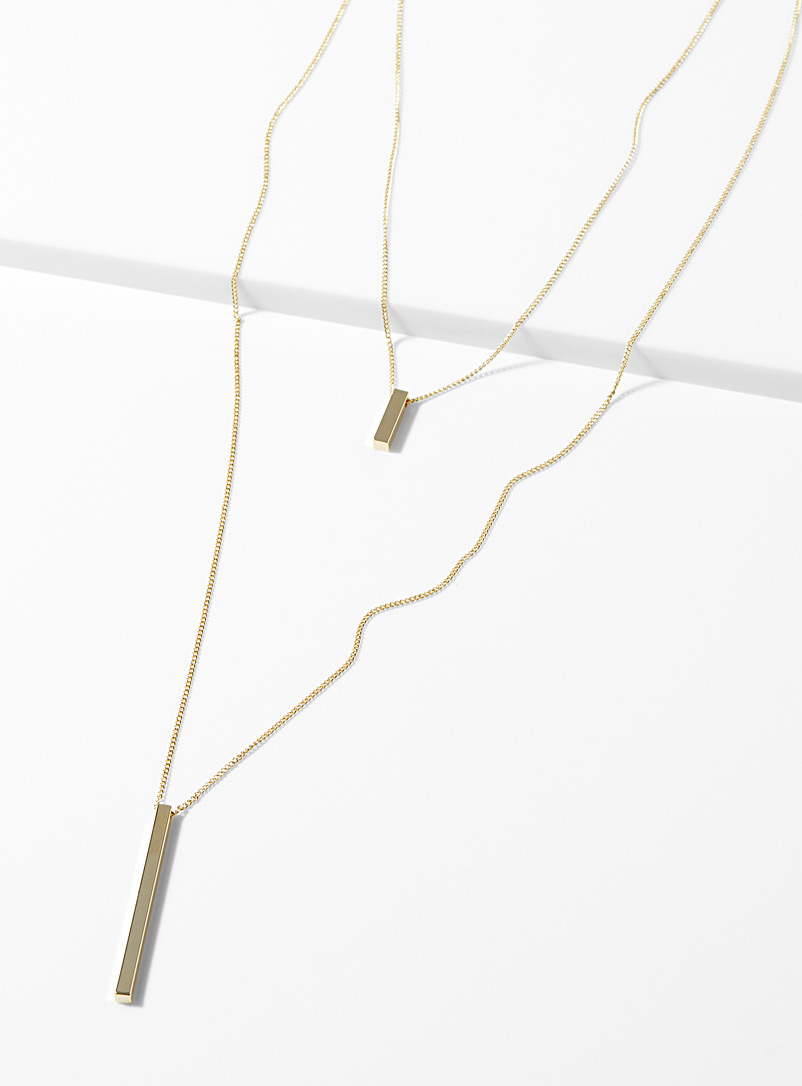 Minimalist prism necklace - Necklaces - Assorted