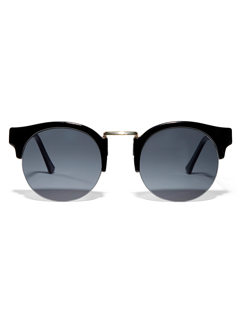 Simons Black Arcade cat-eye sunglasses for women