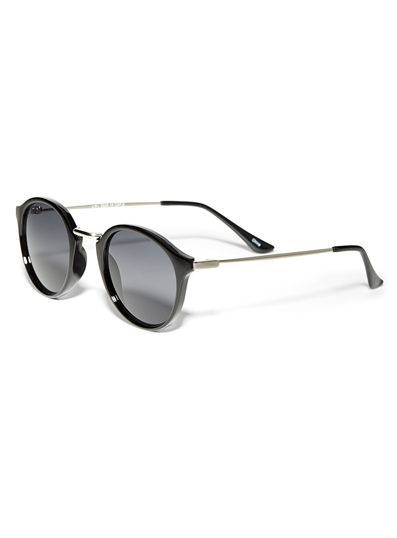 Vintage round sunglasses - Less than $50 - Black