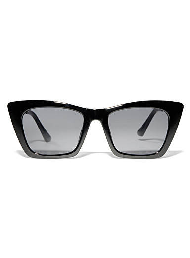 Geo cat-eye sunglasses