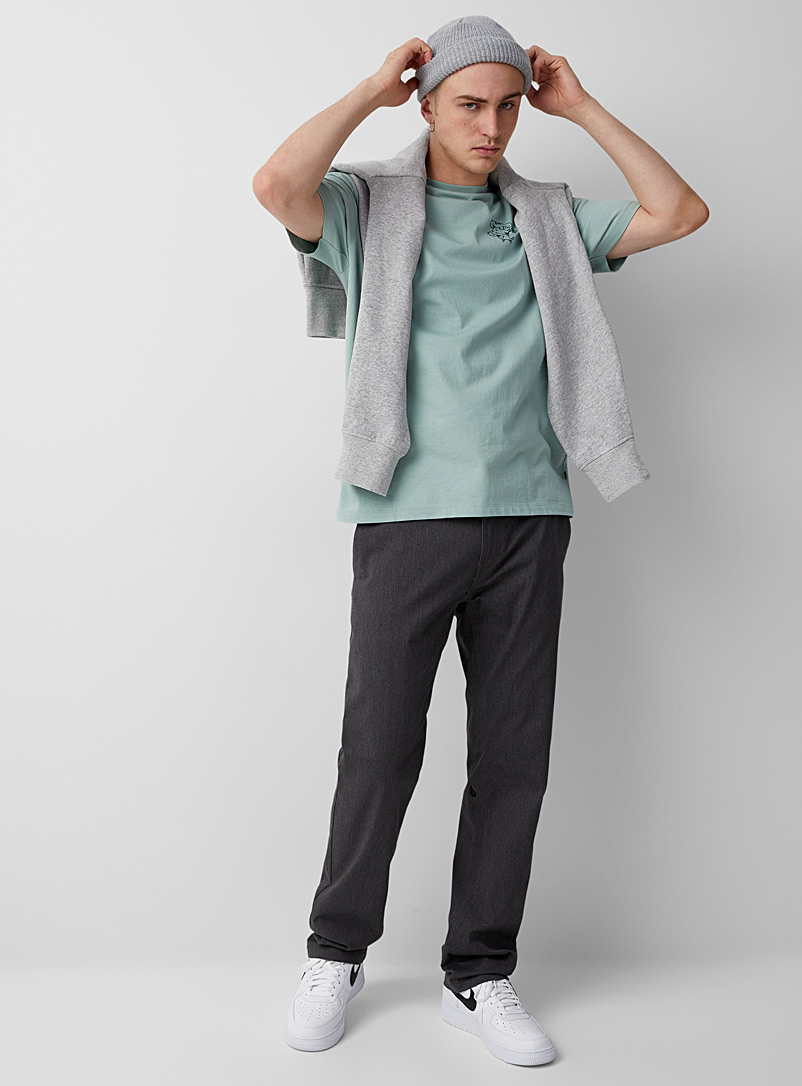 Volcom: Le chino Frickin Coupe droite Gris pour homme