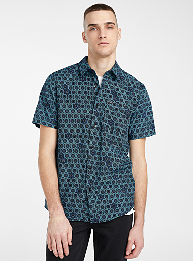 Figurative mosaic shirt