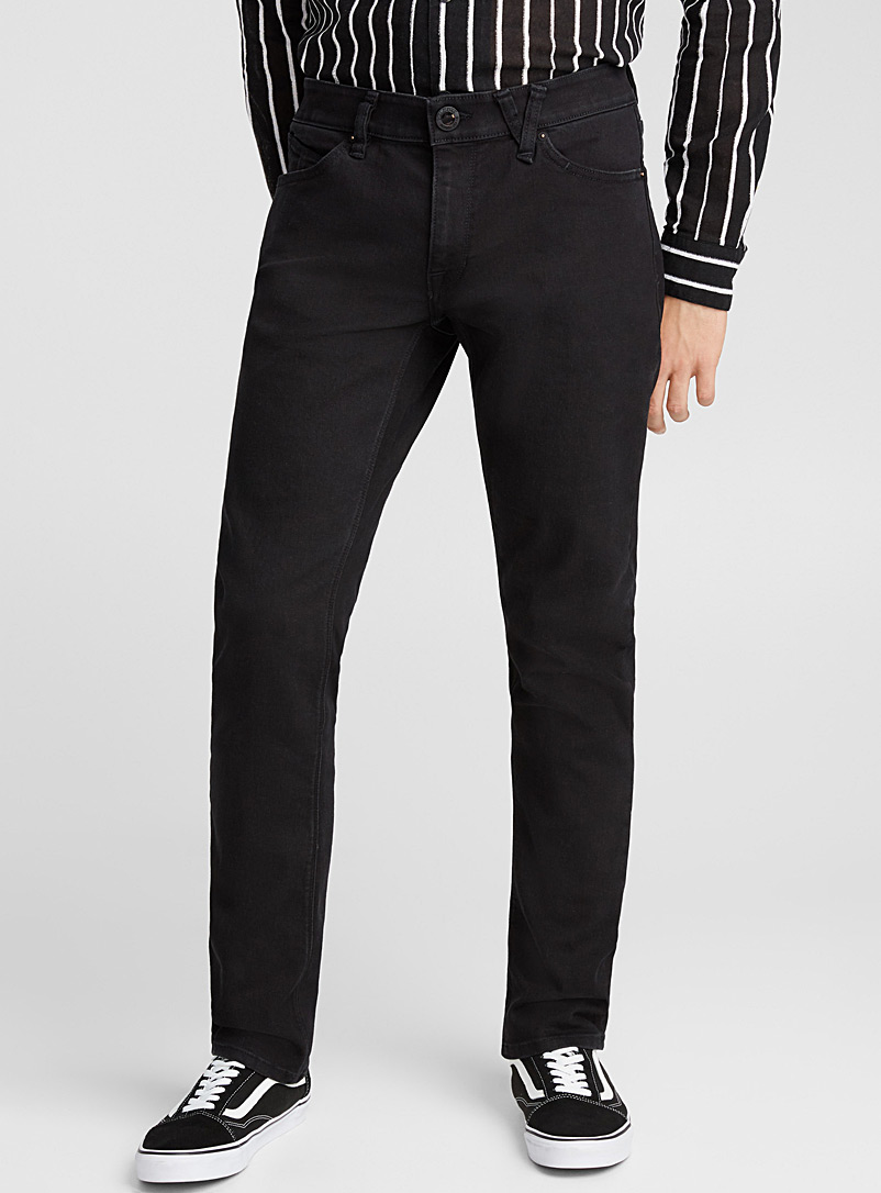 Black Vorta stretch jean - Straight fit - Black