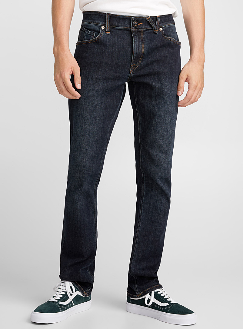 Volcom Blue Vorta blue jean  Slim fit for men