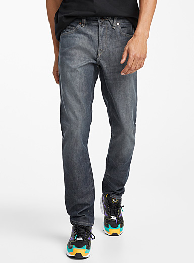 Vorta grey jean  Straight, slim fit